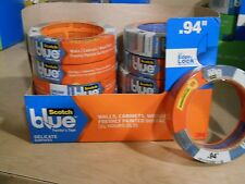 4 rolls 3M Scotch Blue Cabinets wood floors Painter's Tape .94 x 45 yards lot