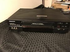 Orion VR5000 4-Head Hi-fi Stereo VHS VCR Recorder Player