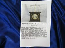 Horolovar Flying Pendulum Clock (Ignatz) Owner's Manual - Operation And Care