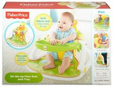 Fisher-Price Sit-Me-Up Floor Seat with Tray, Giraffe ~BRAND NEW~