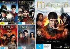 The Adventures Of Merlin Series : COMPLETE COLLECTION Season 1 - 5 : NEW DVD
