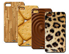 IPM CUSTODIA COVER CASE BISCOTTO CIOCCOLATO LEOPARDO PER iPHONE 5C