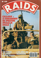 "RAIDS N° 84 ""MAI 1993""--COMMANDEMENT OP SOMALIE/FORCES RAPIDE RUSSES/US ARMY"
