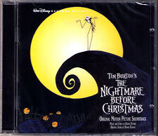 THE NIGHTMARE BEFORE CHRISTMAS Danny Elfman Tim Burton OST Soundtrack CD Disney