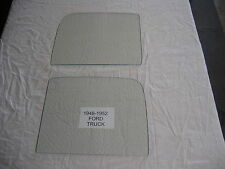 FORD TRUCK 1948 1949 1950 1951 1952  2 DOOR GLASS  CLEAR