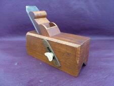Old Tools - A Lovely Brass &  Beech Chamfer Plane
