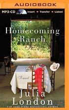 Pine River: Homecoming Ranch 1 by Julia London (2014, MP3 CD, Unabridged)