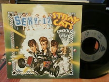 "stray cats""sexy 17""single7""or.fr.arista:105580.de 1983 mint."