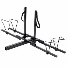 "2 Bike Bicycle Carrier Platform Rack 2"" Hitch Mount Heavy Duty Car Truck SUV"
