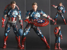 Captain America Crazy Toys The Avengers Age of Ultron Figure Figurine No Box