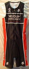 Champion System Black/Red Womens Bike Skinsuit Cycling Size Medium Champ-Sys