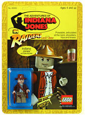 Carded Lego Indiana Jones Mini Figure Kenner Style