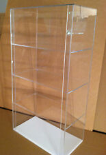 SPECIAL Acrylic COUNTERTOP Display Case 12 x 7 x 22.5 (different shelf spacing)