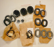 HGU SPH Flight Helmet Communication parts LOT Earcups Microphone Wires Cords