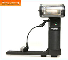 Hanimex Pro 550 with Bracket Hammer Head Flash Flashgun +  Free UK POST