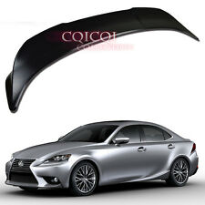 Unpainted Lexus 14~16 IS IS250 IS300 IS350 sedan TRD type trunk spoiler ◎