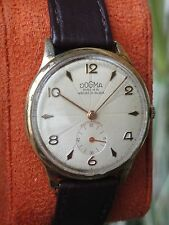 VINTAGE DOGMA PRIMA SWISS WATCH FOR MEN 1950,TEXTURED DIAL,ANTIGUO RELOJ DOGMA