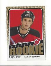 2009-10 O-Pee-Chee #754 Matthew Corrente RC Rookie Devils