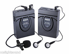 BOYA WM5 PRO WIRELESS LAVALIER BATTERY MICROPHONE SYSTEM FOR VIDEO CAMERA