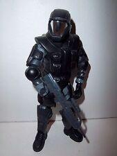 Halo 2 Joyride Bungie **UNSC ODST ORBITAL DROP SHOCK TROOPER** w/ Gun & Knife!!!