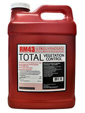 RM43 2.5 Gallon Glyphosate Herbicide Weed Killer Control Preventer Concentrate