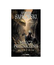 MIECZ PRZEZNACZENIA WIEDZMIN Andrzej Sapkowski ksiazka polska ksiegarnia *JBook