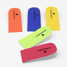 Height Increase Cushion Taller Insoles Heel Lifts Foot Pads Half Shoes Inserts