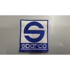 Patch Toppa Ricamata Sparco embroidery cm 7 x 8 termoadesivo