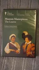 Museum Masterpieces The Louvre DVD Disk Documentary Information