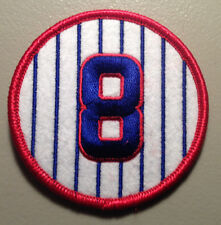 "ANDRE DAWSON ""THE HAWK"" CHICAGO CUBS JERSEY NUMBER 8 PATCH"