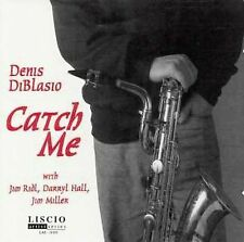 DENIS DiBLASIO -Catch Me-  (CD, Apr-1998, Liscio) -Sealed Copy-