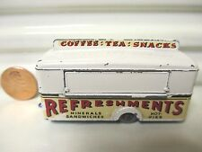 MOKO LESNEY MATCHBOX 1959 RW74A Cream Mobile Refreshment Canteen GPW Exc PvcBx*