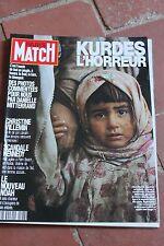 paris match n°2186 villemin kennedy noah diana kurdes