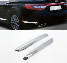 Chrome Side Skirt Molding Accent Garnish 2p For 11-15 Hyundai Azera Grandeur HG