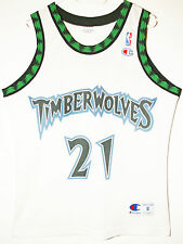 Champion NBA Basketball minnesota timberwolves #21 garnett camiseta/Jersey 36 s