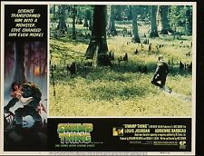 SWAMP THING Adrienne Barbeau Wes Craven ORIGINAL 1982 MOVIE LOBBY CARD 11 x 14