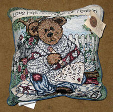 Boyds Bears Love Letters Tapestry Square Pillow