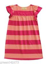 Pink Stripes Nightdress - Size: Large (for 5-6 years old)