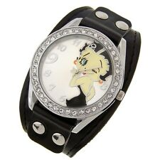 Precioso RELOJ BETTY BOOP watch con brillantes. Color negro. A1780