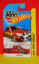 2013 HOT WHEELS OFF-ROAD #164 NISSAN TITAN PICK-UP - KMART DAYS (1OFF)
