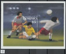 XG-Z024 DOMINICA IND - Football, 1986 Mexico World Cup, Winners Ovp. MNH Sheet