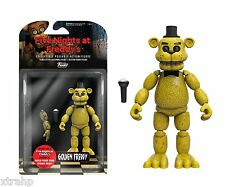 "New Authentic Five Nights At Freddy's Golden Freddy 5"" Figure IN STOCK BAF"
