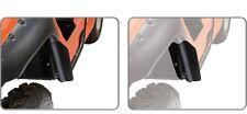 NEW YAMAHA RHINO 450 660 700 PLASTIC TEXTURED BLACK FRONT SPLASH GUARDS