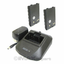 2+1 Battery Charger for YAESU FNB-V57 FNB-83 VXA-200 VXA-210 VX-400 VX-800