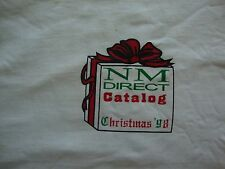 Vintage NOS Neiman Marcus NM Direct Catalog Christmas T Shirt XL