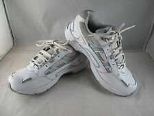 Pre-owned Vionic Walker Shoe for Womens White/Blue Size 7