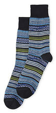 New MISSONI Men's Socks Handcrafted Textured Knit FREE US Ship Reg $45 NEW ITALY