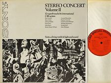 STEREO CONCERT VOLUME II (2) john barry/john williams/bernstein/szell LP EX/EX
