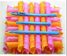 18PCS / Sets 55cm Curl DIY Hair Curlers Tool Styling Spiral Circle Magic Rollers
