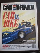 Car and Driver Magazine December 1996 Viper GTS Ferrari 550 Chevy Tahoe II UU YY